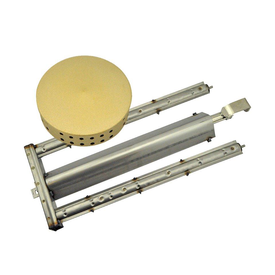 Gasbrenner und Brennerdeckel