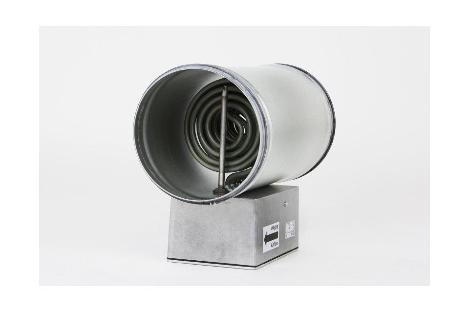 Kanallüfterhitzer rund / standart Type KLV