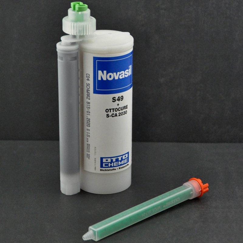 Novasil S 49+S-CA2030 2K schwarz C04 490ml Kartuschen