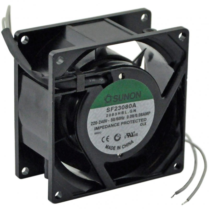 Fan 220-240V 50/60Hz 0.09/0.08Amp